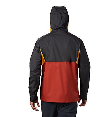 Giacca Inner Limits™ II da uomo Inner Limits™ II Jacket | 362 | L, Carnelian Red, Bright Gold, Shark, back