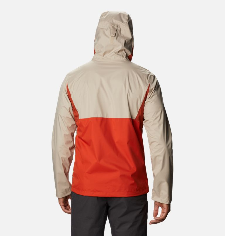 Inner Limits™ II Jacket | 846 | L Men's Inner Limits™ II Jacket, Bonfire, Dark Sienna, Ancient Fossil, back