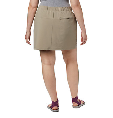 Women's Chill River™ Skort – Plus Size Chill River™ Skort | 466 | 1X, Tusk, back
