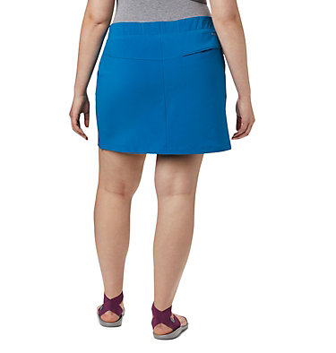 Jupe-short Chill River™ pour femme – Grandes tailles Chill River™ Skort | 466 | 1X, Dark Pool, back