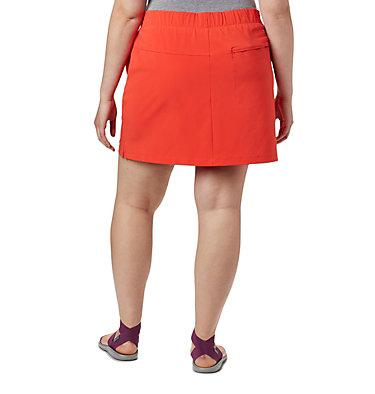 Women's Chill River™ Skort – Plus Size Chill River™ Skort | 221 | 1X, Bright Poppy, back
