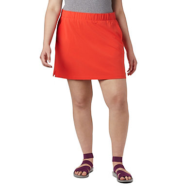 Women's Chill River™ Skort – Plus Size Chill River™ Skort | 221 | 1X, Bright Poppy, front
