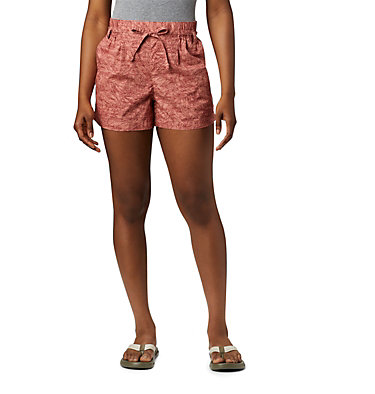 Shorts Summer Chill™ Femme Summer Chill™ Short | 022 | M, Cedar Blush Wispy Bamboos, front
