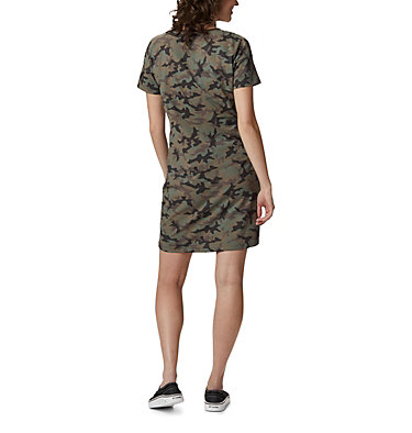 Women's Columbia Park™ Printed Dress Columbia Park™ Printed Dress | 319 | L, Olive Green, back