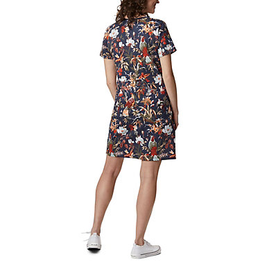 Women's Columbia Park™ Printed Dress Columbia Park™ Printed Dress | 319 | L, Nocturnal Birds N Branches, back