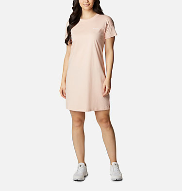 Women's Columbia Park™ Printed Dress Columbia Park™ Printed Dress | 870 | L, Peach Cloud, front