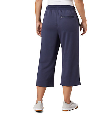 Women's Columbia Park™ Wide Leg Capri Columbia Park™ Wide Leg Capri | 032 | M, Nocturnal, back