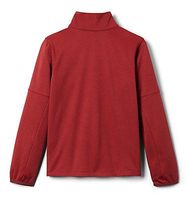 Kids' Tech Trek™ Pullover Tech Trek™ 1/4 Zip | 039 | L, Red Jasper, back