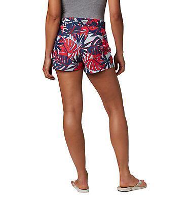 Women's PFG Tidal™ II Shorts Tidal™ II Short | 658 | L, Collegiate Navy Tropical Print, back