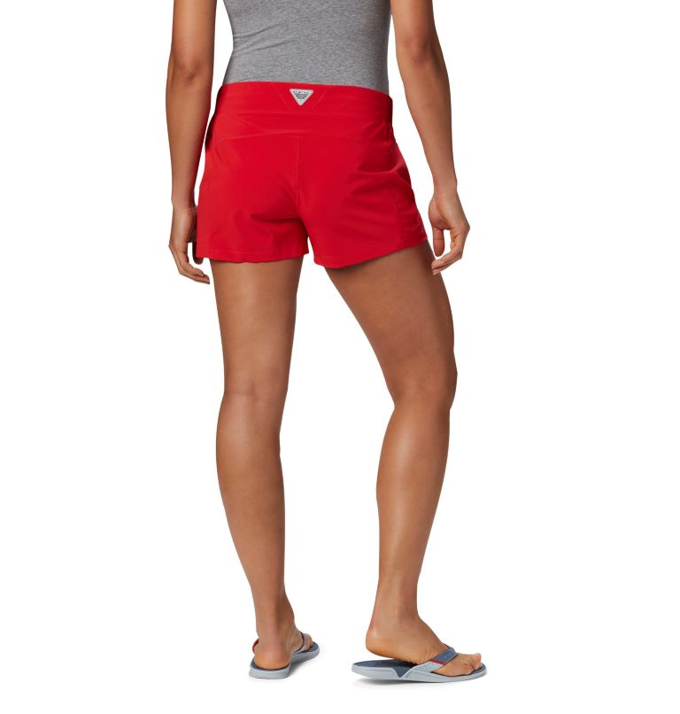 Tidal™ II Short | 658 | XL Women's PFG Tidal™ II Shorts, Red Lily, back