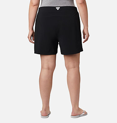 Women's PFG Tidal™ II Shorts - Plus Size Tidal™ II Short | 658 | 1X, Black, back