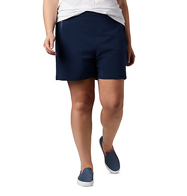 Women's PFG Tidal™ II Shorts - Plus Size Tidal™ II Short | 867 | 1X, Collegiate Navy, front