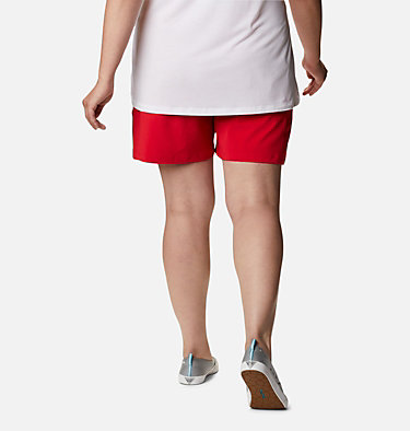 Women's PFG Tidal™ II Shorts - Plus Size Tidal™ II Short | 658 | 1X, Red Lily, back