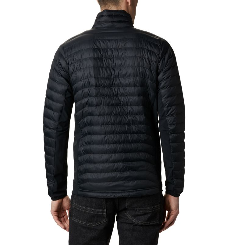 Powder Pass™ Jacket | 010 | XXL Giacca Powder Pass™ da uomo, Black, back