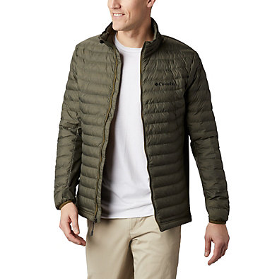 Chaqueta Powder Pass™ para hombre Powder Pass™ Jacket | 010 | L, New Olive Heather, front