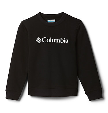 Youth Park™ French Terry Crew Columbia Park™ French Terry Crew | 466 | S, Black, front