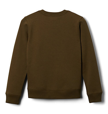 Youth Park™ French Terry Crew Columbia Park™ French Terry Crew | 466 | L, New Olive, back