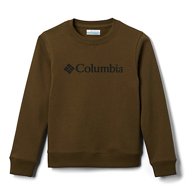 Youth Park™ French Terry Crew Columbia Park™ French Terry Crew | 466 | L, New Olive, front