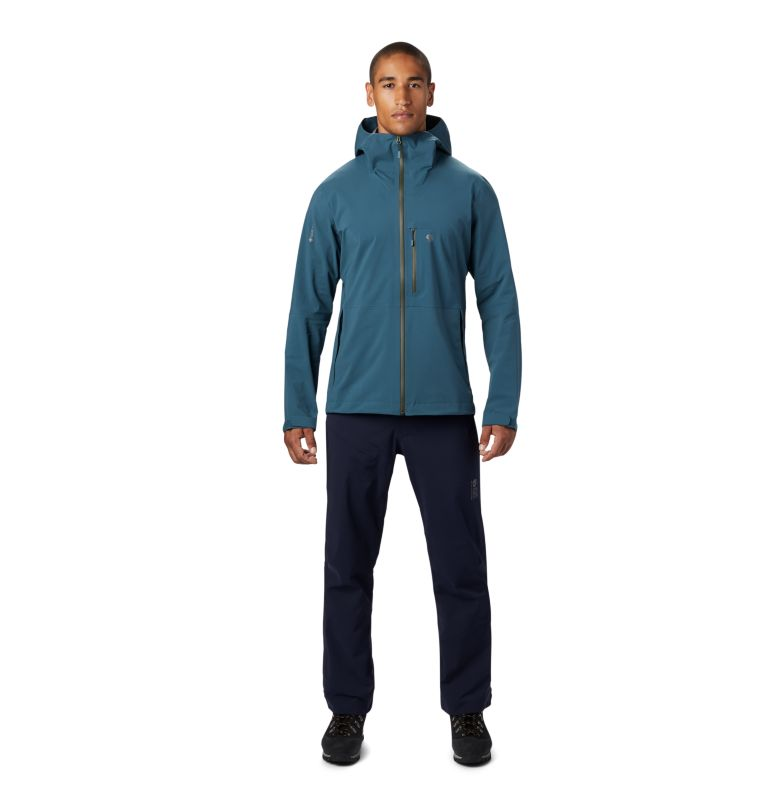 Exposure/2™ GTX Paclite Stretch Jkt | 324 | S Men's Exposure/2™ Gore-Tex Paclite® Stretch Jacket, Icelandic, a1