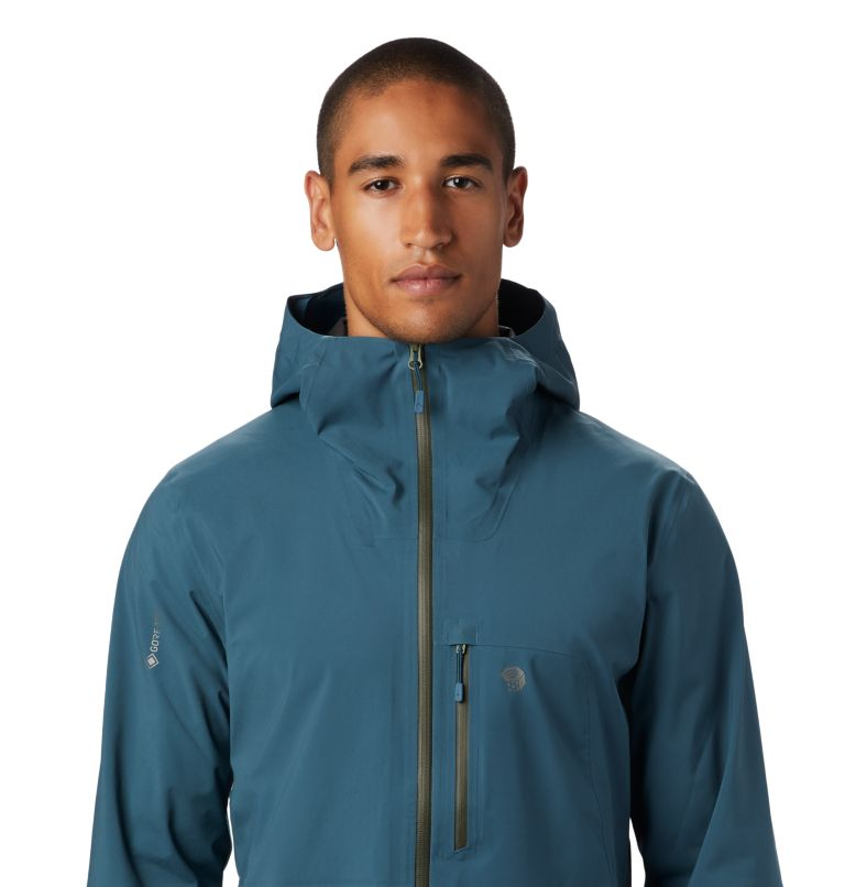 Exposure/2™ GTX Paclite Stretch Jkt | 324 | S Men's Exposure/2™ Gore-Tex Paclite® Stretch Jacket, Icelandic, a2