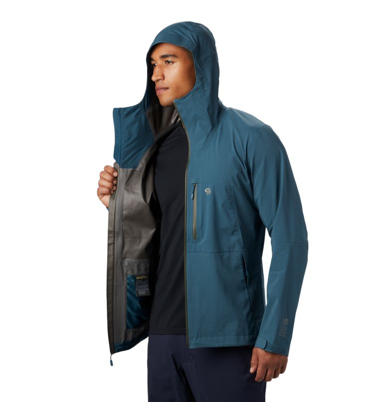 Exposure/2™ GTX Paclite Stretch Jkt | 324 | S Men's Exposure/2™ Gore-Tex Paclite® Stretch Jacket, Icelandic, a5