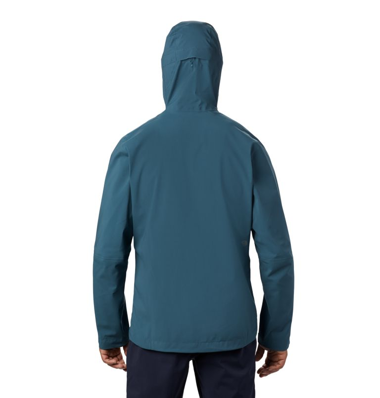 Exposure/2™ GTX Paclite Stretch Jkt | 324 | S Men's Exposure/2™ Gore-Tex Paclite® Stretch Jacket, Icelandic, back
