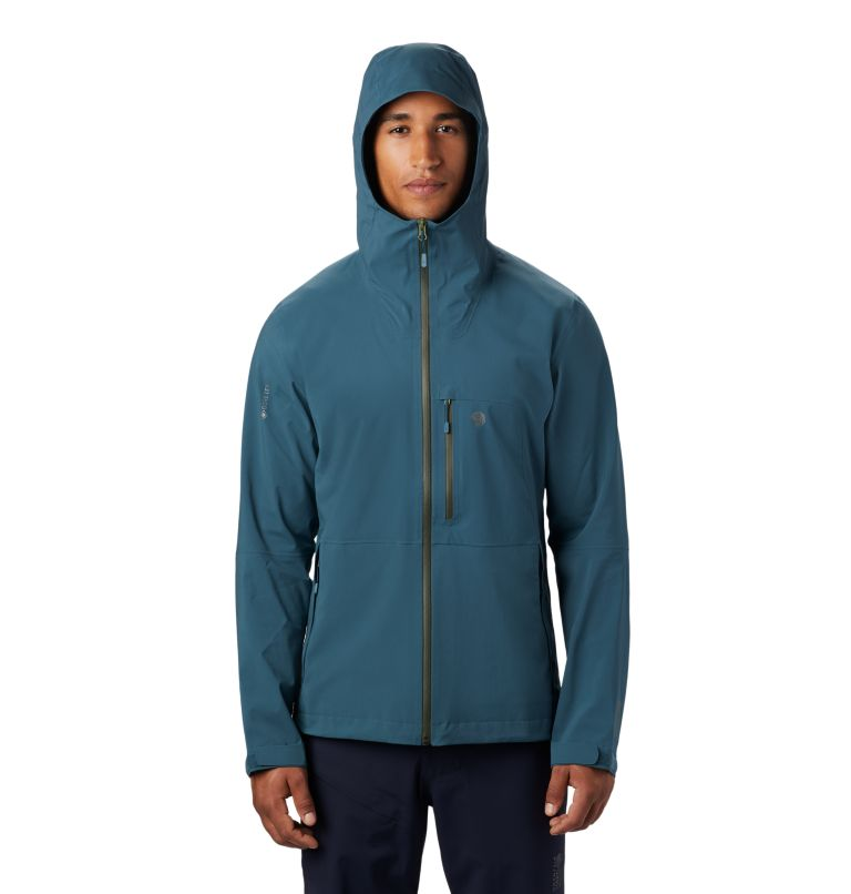 Exposure/2™ GTX Paclite Stretch Jkt | 324 | S Men's Exposure/2™ Gore-Tex Paclite® Stretch Jacket, Icelandic, front