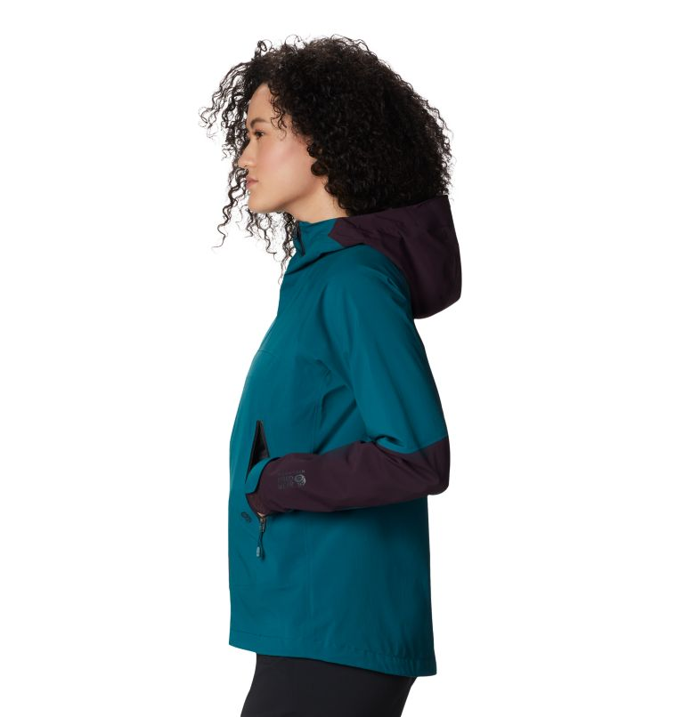 Exposure/2™ GTX Paclite Stretch Jkt | 468 | XL Women's Exposure/2™ Gore-Tex Paclite® Stretch Jacket, Dive, a1