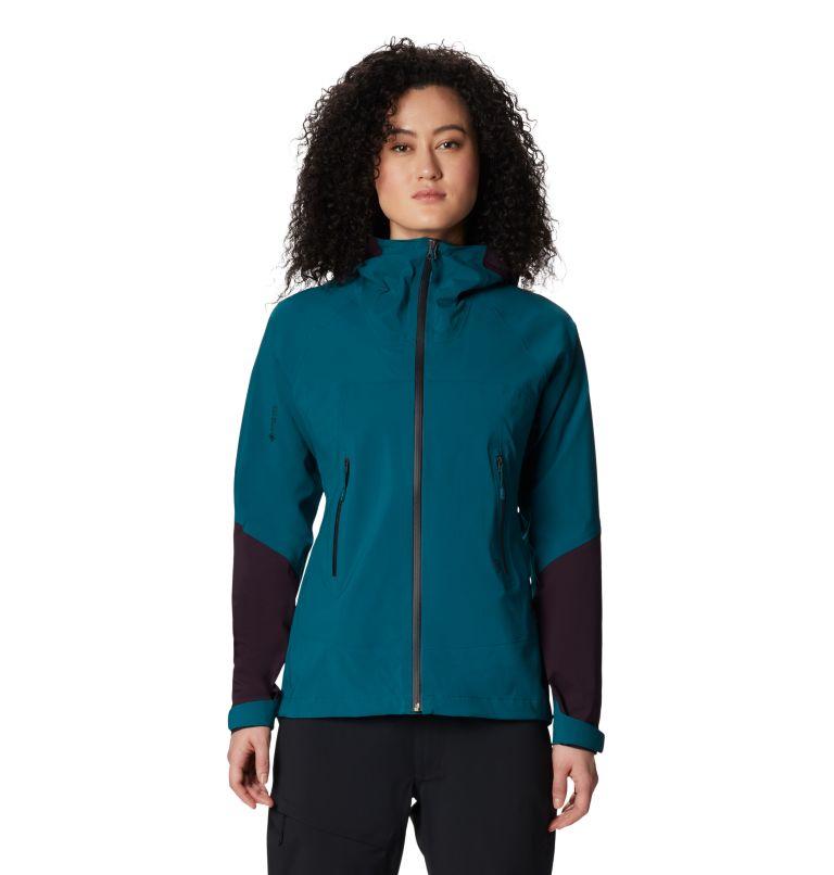 Exposure/2™ GTX Paclite Stretch Jkt | 468 | XL Women's Exposure/2™ Gore-Tex Paclite® Stretch Jacket, Dive, a2