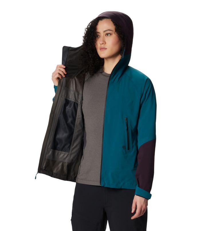 Exposure/2™ GTX Paclite Stretch Jkt | 468 | XL Women's Exposure/2™ Gore-Tex Paclite® Stretch Jacket, Dive, a4