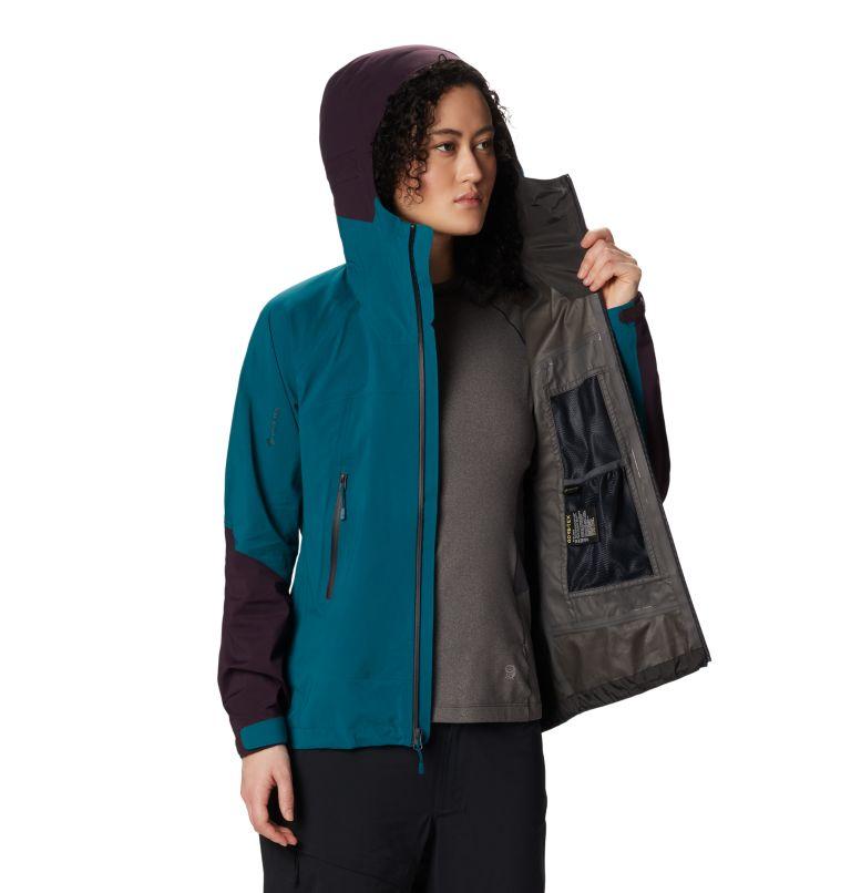 Exposure/2™ GTX Paclite Stretch Jkt | 468 | XL Women's Exposure/2™ Gore-Tex Paclite® Stretch Jacket, Dive, a5
