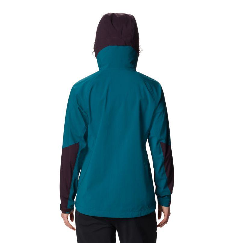 Exposure/2™ GTX Paclite Stretch Jkt | 468 | XL Women's Exposure/2™ Gore-Tex Paclite® Stretch Jacket, Dive, back