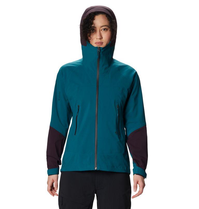 Exposure/2™ GTX Paclite Stretch Jkt | 468 | XL Women's Exposure/2™ Gore-Tex Paclite® Stretch Jacket, Dive, front