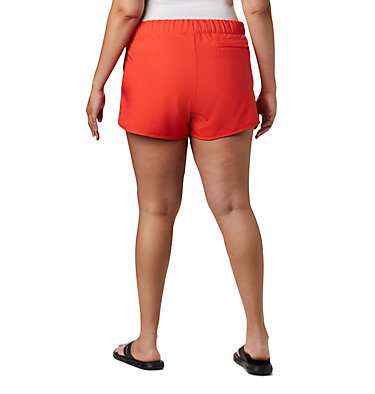 Women's Chill River™ Shorts - Plus Size Chill River™ Short | 221 | 1X, Bright Poppy, back