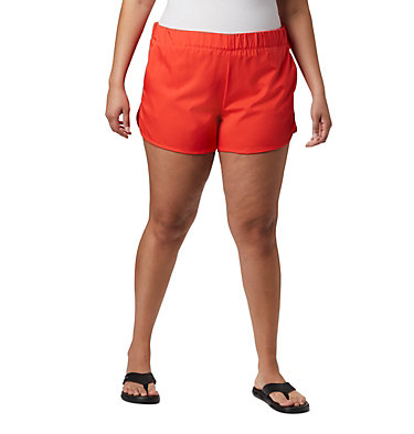 Women's Chill River™ Shorts - Plus Size Chill River™ Short | 221 | 1X, Bright Poppy, front
