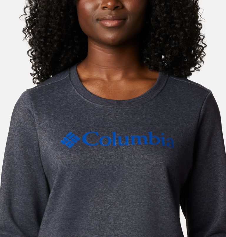 Columbia™ Logo Crew | 011 | S Columbia™ Logo Crew Topda donna, Shark Heather, a2