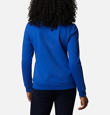 Columbia™ Logo Crew Top da donna Columbia™ Logo Crew | 011 | XS, Lapis Blue, back