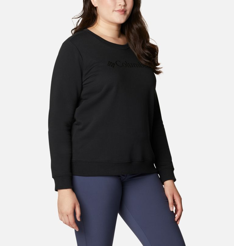 Women's Columbia™ Logo Crew Top - Plus Size Women's Columbia™ Logo Crew Top - Plus Size, a3