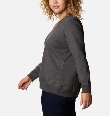 Women's Columbia™ Logo Crew Top - Plus Size   Columbia Sportswear