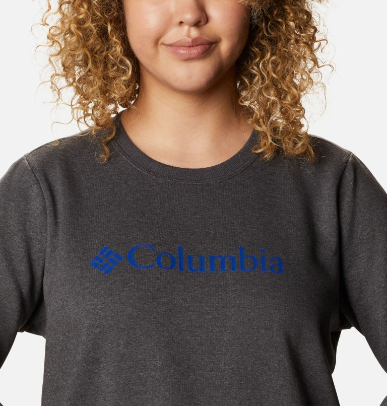 Women's Columbia™ Logo Crew Top - Plus Size Women's Columbia™ Logo Crew Top - Plus Size, a2