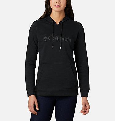 Women's Columbia™ Logo Hoodie Columbia™ Logo Hoodie | 011 | XS, Black, front