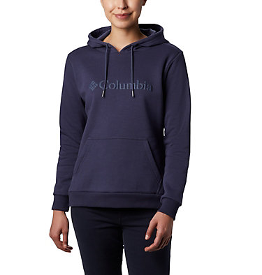 Sweat à Capuche Columbia™ Femme Columbia™ Logo Hoodie | 011 | XS, Nocturnal, front