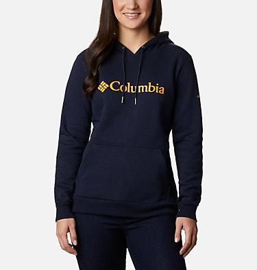 Felpa con cappuccio con logo Columbia™ da donna , front