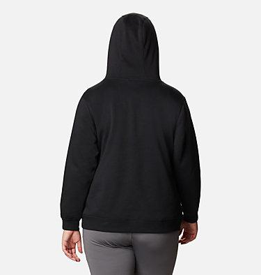 Women's Columbia™ Logo Hoodie - Plus Size Columbia™ Logo Hoodie | 673 | 1X, Black, back