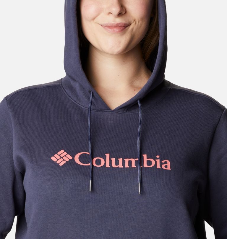 Women's Columbia™ Logo Hoodie - Plus Size Women's Columbia™ Logo Hoodie - Plus Size, a2
