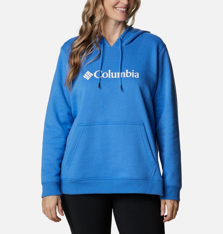 Women's Columbia™ Logo Hoodie - Plus Size Women's Columbia™ Logo Hoodie - Plus Size, front