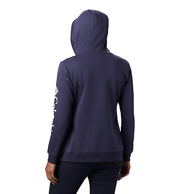 Women's Columbia™ Logo Full Zip Hoodie Columbia™ Logo Full Zip | 618 | L, Nocturnal, back