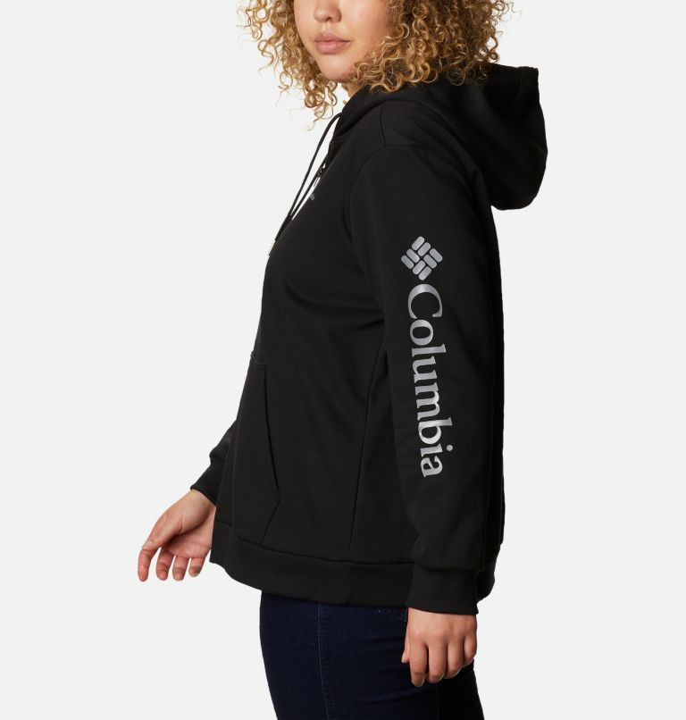 Women's Columbia™ Logo Full Zip Hoodie - Plus Size Women's Columbia™ Logo Full Zip Hoodie - Plus Size, a1