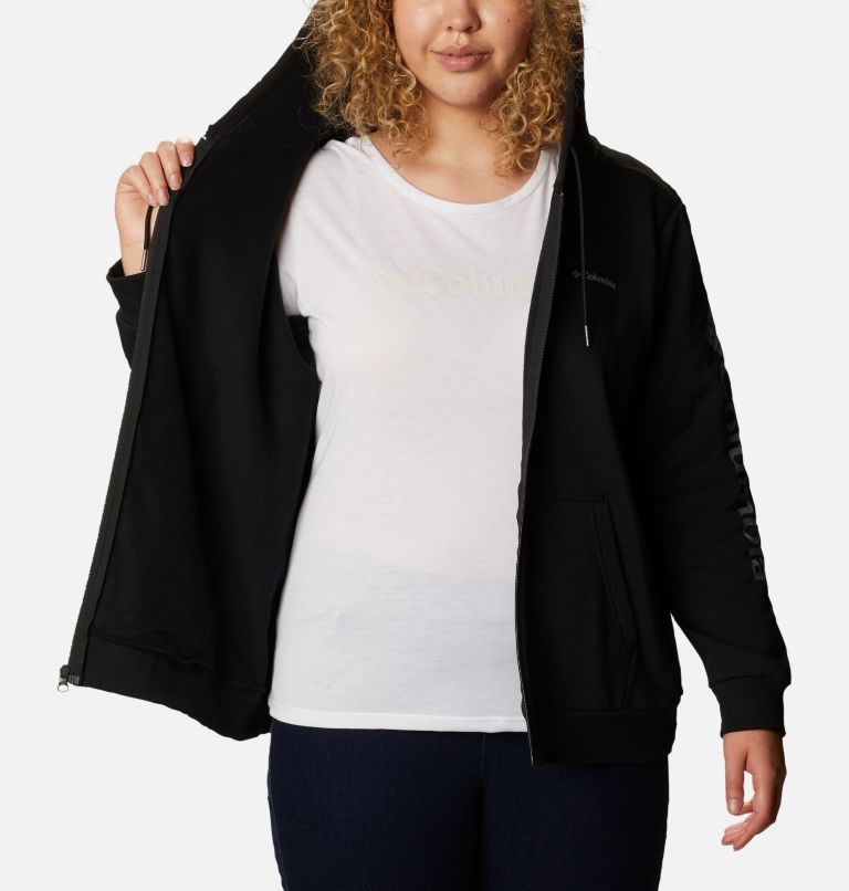Women's Columbia™ Logo Full Zip Hoodie - Plus Size Women's Columbia™ Logo Full Zip Hoodie - Plus Size, a3