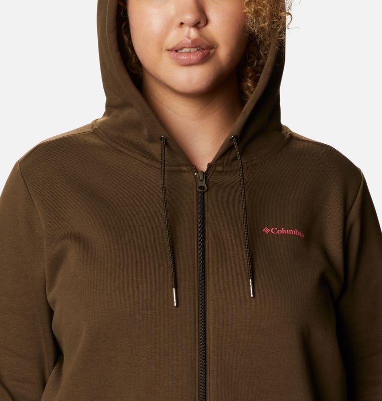 Women's Columbia™ Logo Full Zip Hoodie - Plus Size Women's Columbia™ Logo Full Zip Hoodie - Plus Size, a2